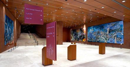 Il parco della musica a roma for Auditorium parco della musica sala santa cecilia posti migliori