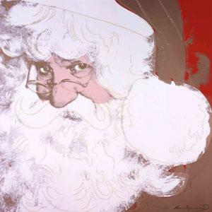 Andy Warhol: Santa Claus (1981), Ronald Feldman Fine Arts, New York