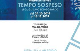 Riprendono gli eventi da AM Studio: Tempo Sospeso, personale di Guglielmo Longobardo