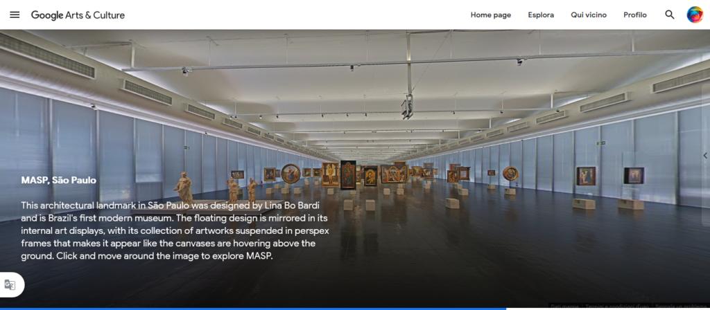 Google Arts&Culture  MASP