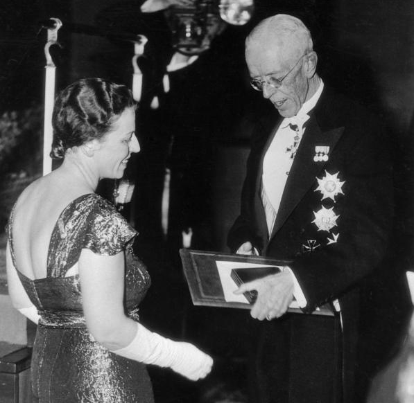 Immagine della premiazione Premio Nobel 1938 per la Letteratura a Pearl Buck
